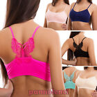 Top woman bra lingerie butterfly sexy rower sport new 00-8715