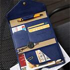 Travel PU Leather Passport Holder Ticket Cover Wallet ID Document Bags 4 Color H