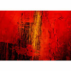 "Vlies Fototapete ""Paint it Red"" ! Ornamente Tapete abstrakt 3D Wand braun Hinter"