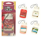 Yankee Candle Car Jar Air Freshener Paperboard Refreshener - Variety Of Choices