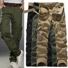 Fashion Mens Causal Baggy Herem Jogging Pants Trousers Army Military Long Sports