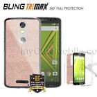 Motorola Droid Turbo 2 XT1585 Case Full Body Nano Flexible Skin Gold/Rose/Silver