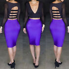 Sexy Two Pieces Black Crop Top V-Neck Backless Bodycon Skirt Mini Dress Clubwear