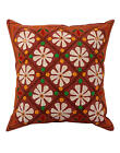 Patchwork Cushion Cover Indian Floral Cotton Pillow Case Cover Throw 16""