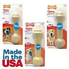 NYLABONE DURA CHEW BARBELL  M/L/XL Super Tough Powerful Chewers USA Dog Chew Toy