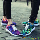 New Fashion Breathable Sneakers Sport Casual Running Wome's and Men's Shoes