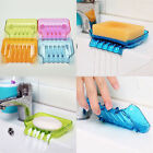 Suction Draining Cup Holder Bathroom Shower Soap Dish Tray Storage 4 Colors LAU