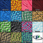 550 Paracord Rope Mil Spec Type III 7 Strand Parachute Cord 10 25 50 100 ft
