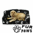 FUR PAWS – FAUX FUR PET SOFA. NICE SETTEE. VERY SOFT DOG & CAT BED ANIMAL COUCH