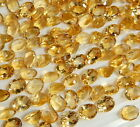 9X11 MM Genuine Citrine Oval Faceted Cut IF-VVS Calibrated Gemstones