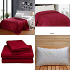 8 Piece Bed in A Bag Comforter Set with Pillows - Twin Queen & King Size