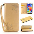 Luxury Flip Leather Wallet Card Magnetic Case Cover For Samsung Galaxy Phones