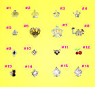 Nail Art 3D Metal Alloy Bling Rhinestone Crystal Crown Love Cat Decoration 10pcs