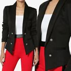 TheMogan Women's Day to Night Double Breasted Tuxedo Blazer Office Casual S~3XL