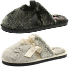New Dunlop Adrienne Womens Slipper Mules ALL SIZES AND COLOURS
