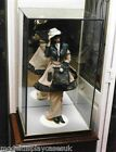 "DOLL 10"" (255mm) x10"" (255mm) x 20"" HIGH (510mm) DOLL GLASS DISPLAY CASE ONLY"