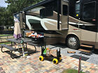 RV Carts and Wagons Motor Home Toy Hauler Accessories Travel Trailer Supplies