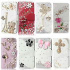 3D Bling Glitter Bling Crystal Rhinestone Leather Case Cover For Nokia Lumia