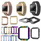 Milanese Stainless Steel Magnetic Loop Wrist Watch Band Strap For Fitbit Blaze