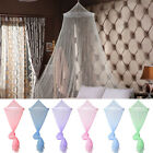 Princess Round Lace Queen Dome Curtain Mesh Gauze Mosquito Netting Bed Bedding image