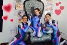 Cool D Va Costume Cosplay Party Zentai Suit For girl / women / lady Hot Sale