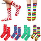 1pair New Womens Girl Fashion Cotton Cartoon Hosiery Casual Stockings High Socks