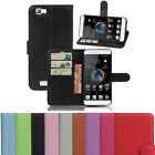 QW Wallet Holder Leather Pouch Case Cover For ZTE Blade A610