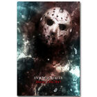 Friday The 13th Horror Movie Silk Poster 12x18 24x36inch