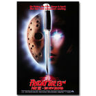Friday The 13th Horror Movie Silk Poster 12x18 24x36inch 002