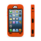 For Apple iPhone 5 5S  Silicone Rugged Rubber Hard Shockproof Case Cover