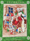 FINAL CLEARANCE : DEAR SANTA CHRISTMAS calendar 100% cotton 67x105cm craft panel