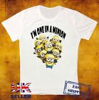 MINION I'M ONE IN ONE DESIGNER FUNNY COMIC UNISEX T SHIRT 500