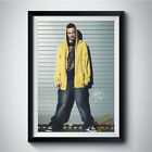 AARON PAUL JESSE PINKMAN TV Autographed Reprint Poster A4 A3 5R BREAKING BAD