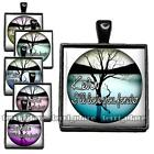 I'll Love You Forever Custom Name Handcrafted Glass Top Pendant Charm Key Chain