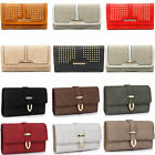 LeahWard Women's Nice Purse Bag Ladies Faux Leather Wallet Clutch Coin Bags 1075