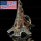 Parfum Bottle Gold Rhinestone Crystal Purse Charm Handbag Keychain Accessory lot
