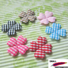 "(U Pick) Wholesale 60-480 Pcs. 1"" Padded Gingham Spring Flower Appliques F2200"