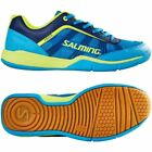 Salming Adder Men's Cyan/Yellow Squash Shoes 2017 Edition