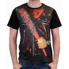Negan Lucille Baseball Bat The Walking Dead Costume Kostüm Männer Men T-Shirt