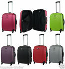 Medium 60litre Hard Shell 4 Wheel Spinner Suitcase ABS Luggage Trolley Case 23""