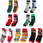 Flash/Sesame Street/Ghostbusters/Family Guy/Batman Adult Sock Twin Pack