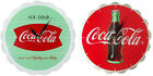 Coca Cola/Coke - Bottle Crown Shaped Wooden Wall Clock New & Official In Box