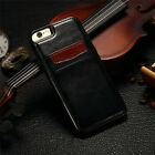 Luxury Slim Leather Wallet Card Back Case Cover For iPhone 5 SE 7 6 Plus 6S Plus