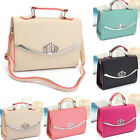 Fashion Women Handbag Shoulder Bag Tote Purse PU Leather Messenger Crossbody LAU