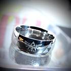 The Legend of Zelda - Triforce Collectible Band Ring - Black, Gold or Silver