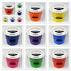 New Pack of 3 Charity Street Collecting Buckets Fundraising Donation 8 Colours
