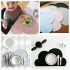 Ins Baby Food Mat Dining Table Placemats Cloud Placemat Table Mat Silicone Mat