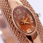 Women's Retro Bracelet Bangle Crystal Dial Quartz Analog Wrist Watch JYL