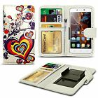 For Apple iPhone 3G - Printed Design PU Leather Wallet Case Cover