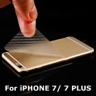 For iPhone 7/7plus Back Rear Carbon Fiber Screen Protector Film Cover Guard